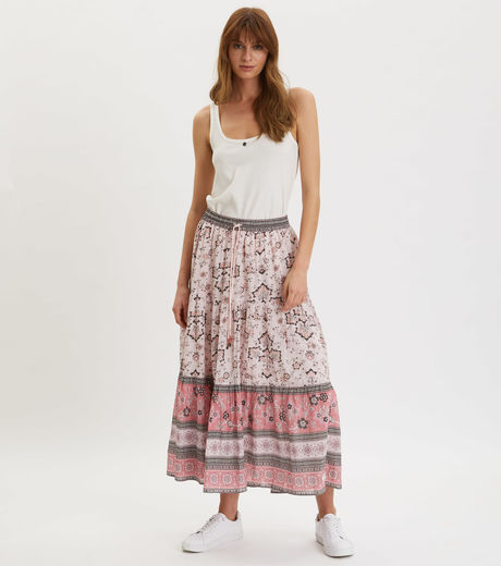 Odd Molly Bohemic Skirt Pink Elder