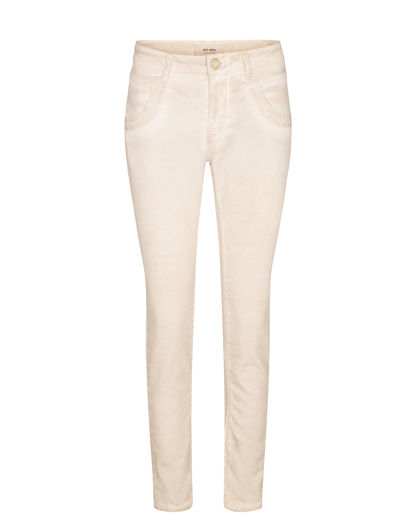 Mos Mosh Naomi Embroidery Soft Pant Soft Beige