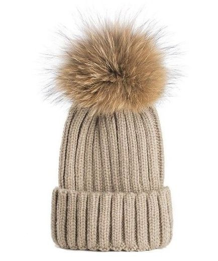 Natures Collection Sheila Beanie Beige