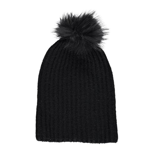 Natures Collection Simone Beanie Black