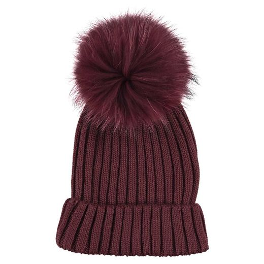 Natures Collection Sheila Beanie Burgundy