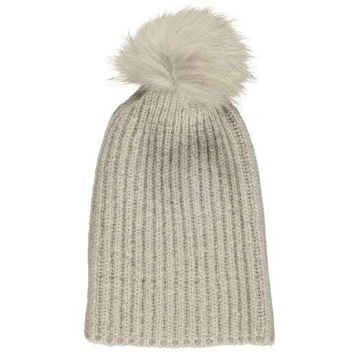 Natures Collection Simone Beanie Pearl Grey