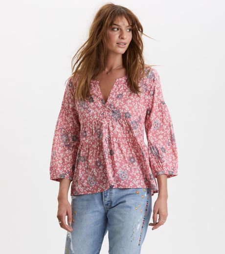 Odd Molly Lush Shake Blouse